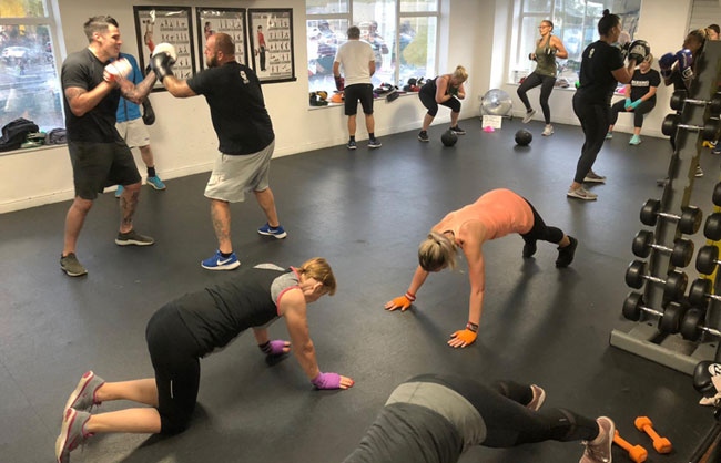 personal trainer fitness classes